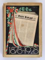 Az 50 éves Pesti Hirlap jubileumi albuma 1878-1928. Budapest, 1928, Légrády-Testvérek, 1072 p. Kiadói papírborítóban, szövegközti és egész oldalas képekkel igen gazdagon illusztrálva, kissé szakadt borítóval, kissé laza kötéssel, de egyébként jó állapotban.