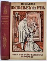 Charles Dickens: Dombey és fia. Átdolgozott kiadás. K. Sávely Dezső rajzaival. Bp., é.n., Szent István-Társulat. Kiadói illusztrált félvászon, kissé foltos, kissé kopottas borítóval, de alapvetően jó állapotban.