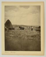 cca 1905 Bosznia, taposómalom, 29x24 cm, karton 34x28 cm