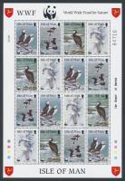 1989 WWF Tengeri madarak kisív Mi 408-411