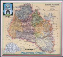 2016 Magyarország vármegyéi 6. - Baranya vármegye emlékív