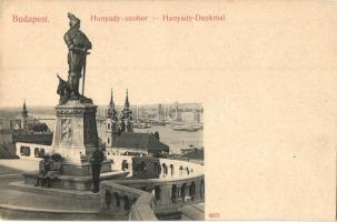 Budapest I. Hunyadi szobor, Taussig A. (EK)