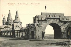 Budapest I. Halászbástya, Taussig A. kiadása (EK)