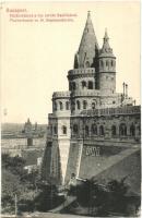 Budapest I. Halászbástya, Szent István Bazilika, Taussig A. kiadása