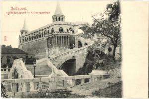 Budapest I. Királyi vár, Halászbástya, Taussig A. kiadása