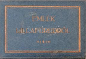 Lillafüred, leporelló füzet 18 db képeslappal