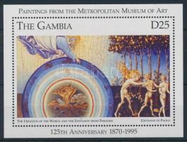 1996 Festmény blokk Mi 280