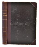 Oltay Károly: Geodézia II-III-IV. kötet. Tan és kézikönyv mérnöki használatra. II. A vízszintes mérés alapműveletei és műszerei. III. A vízszintes mérés módszerei. IV. A magasságmérés műszerei és módszerei. Bp., 1919-1920, Németh József Technikai Könyvkiadóvállalata, VIII+184+IX+266+IV+149 p. Átkötött egészvászon kötés, kissé kopottas borítóval, kissé kopottas, kissé sérült gerinccel, a II-III. kötet egybekötve. Jó állapotban.