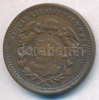 1868KB 1kr Cu Angyalos címer T:2,2- Adamo M4.1