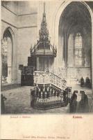 Kassa, Kosice; Szószék a dómban, belső / pupit, dome, interior (EK)