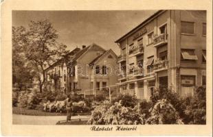 Hévíz, Hotel Pátria, Zsófi-lak, Képzőművészeti Alap kiadása (EB)
