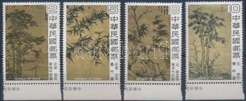 1979 Festmény ívszéli sor Mi 1311-1314