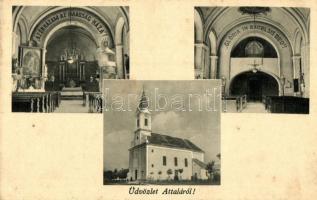 Attala, Római katolikus templom, belső, kiadja a Római Katolikus Plébánia (EK)