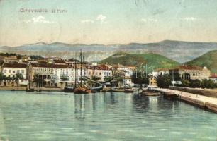 Crikvenica, Cirkvenica; Kikötő / port (EK)