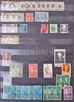 USA Régi és modern bélyegek 12 lapos nagyalakú berakóban