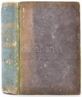Caii Plinii Secundi Historiae naturalis libri XXXVII. 5.köt.: libri XXXV-XXXVII et index. Lipcse, 1830, Karl Tauchnitz. Kopott későbbi félvászon kötésben, az első két lap kijár, egyébként szép állapotban.