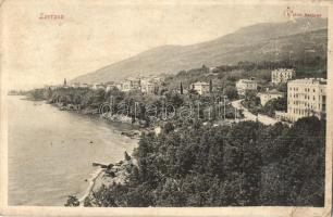 Lovran, Lovrana; Pension Breiner / hotel, general view (EB)