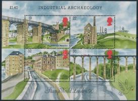 1989 Ipari archeológia blokk Mi 5