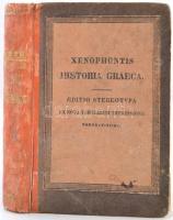 Xenophontis Historia Graeca. Szerk.: Weise, C. H. 4. köt. Lipcse, 1828, Karl Tauchnitz. Későbbi kopott kartonált papírkötésbe, egyébként jó állapotban.