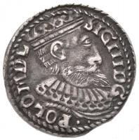 Lengyel Királyság 1599. 3Gr Ag III. Zsigmond (2,27g) T:2 Poland 1599. 3 Grossi Ag Sigismund III (2,27g) C:XF Kopicki 1136