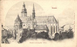 Kassa, Kosice; Erzsébet székesegyház, kiadja László Béla / cathedral (EK)