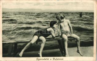 Balaton, gyermekélet, gyerekek (EK)