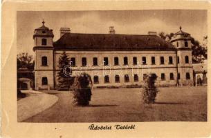 Tata, Gróf Esterházy kastély, Képzőművészeti Alap kiadása (EB)
