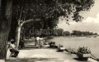 Balatonfüred - 5 db MODERN magyar városképes képeslap, Képzőművészeti Alap kiadásai / 5 MODERN Hungarian townview postcards