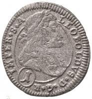 Csehország / Történelmi tartomány 1705. 1kr Ag I. Lipót Kuttenberg (0,74g) T:2- Bohemia 1705. 1 Kreuzer Ag Leopold I Kuttenberg (0,74g) C:VF Krause KM#582