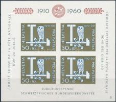 1960 Pro Patria blokk Mi 17 (Mi EUR 40,-)