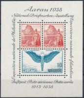 1938 Bélyegkiállítás blokk Mi 4 (Mi EUR 75,-)