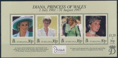 1998 Diana hercegnő blokk Mi 21