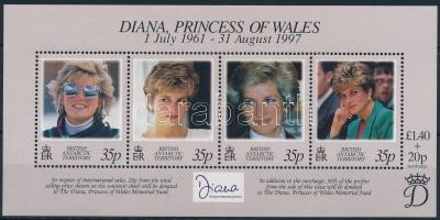 Diana hercegnő blokk Princess Diana block