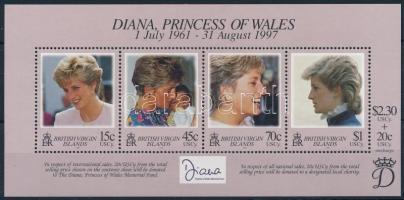 1998 Diana hercegnő blokk Mi 93