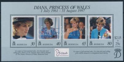1998 Diana hercegnő blokk Mi 8