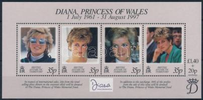 1998 Diana hercegnő blokk Mi 7