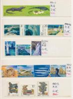 Kis tétel, benne magyar emléklapok és külföldi vegyes motívum bélyegek