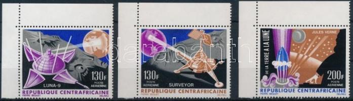 1966 Holdra szállás ívsarki sor Mi 116-118