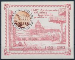 2002 150 éves az első bélyeg blokk Mi 23
