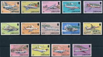 1982 Repülőgépek záróérték nélküli sor Mi 432 X I-445 X I