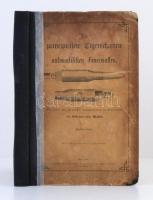 Kaisertreu: Die principiellen Eigentschaften der automatischen Feuerwaffen. Bécs, 1902, Wilhelm Braumüller & Sohn. Mellékletekkel. Megviselt, javított félvászon kötésben, egyébként jó állapotban.