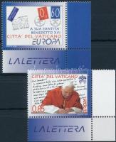 2008 Europa CEPT: Levelezés ívsarki sor Mi 1601-1602