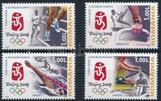 2008 Nyári Olimpia, Peking blokkból kitépett sor Mi 6290-6293