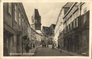 Perchtoldsdorf, Wienerstrasse, dentist, bookstore, shops, hotel, Meinl Kaffee advertisement (EK)