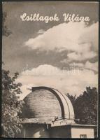 1956 Csillagok világa 1. szám. Szerk.: Guman István. Kiadói papírborítóban.