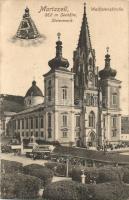 Mariazell, Wallfahriskirche / church, Franz Eggers shop, market (EK)