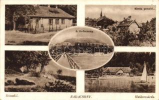 Badacsony, Posta, halászcsárda, Siesta panzió, Rózakő