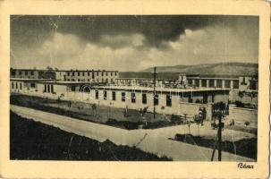 Nána, Párkánynána, Stúrovo; laktanya, Levente csapatparancsnokság kiadása / military barracks (fa)