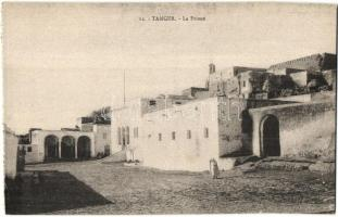 Tangier, Tanger; La Prison / prison, from postcard booklet
