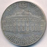 Ausztria 1976. 100Sch Ag 200 éves a Várszínház T:2 k.  Austria 1976. 100 Schilling Ag 200th Anniversary of the Burgtheater C:XF scratch